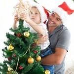 Los días festivos de los hijos con padres separados